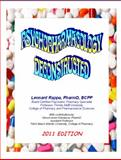 Psychopharmacology Deconstructed, Rappa, Leonard, 098253504X