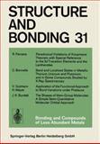 Bonding and Compounds of Less Abundant Metals, Ferreira, R. and Bonnelle, C., 3662155044