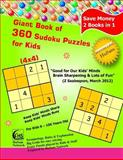 Giant Book of 360 Sudoku Puzzles for Kids ( 4x4 Puzzles ), HuSam Network, 1497305047