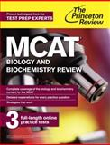 MCAT Biology and Biochemistry Review, Princeton Review, 080412504X
