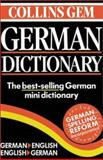 Collins Gem German Dictionary, HarperCollins Publishers Ltd. Staff, 0060935057