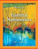Essential Mathematics, Lial, Margaret L. and Salzman, Stanley A., 0321845056