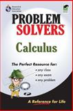Calculus, Editors of REA, Calculus Study Guides, 0878915052