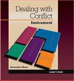Dealing with Conflict Instrument : Leader's Guide, Hiam, Alexander, 0874255058