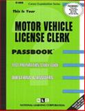 Motor Vehicle License Clerk, Jack Rudman, 0837305055