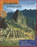 Introduction to Geography, Fellmann, Jerome Donald and Getis, Arthur, 069738506X