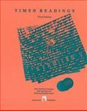Timed Readings, Edward Spargo, 0890615063