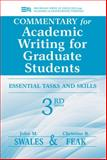 Commentary for Academic Writing for Graduate Students 3rd Edition