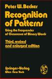 Recognition of Patterns : Using the Frequencies of Occurrence of Binary Words, Becker, Peter W., 3211815066