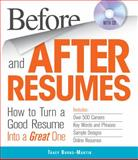 Before and after Resumes with CD, Tracy Burns-Martin, 1440525072