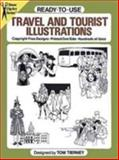 Travel and Tourist Illustrations, Tom Tierney, 0486255077