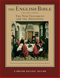 The English Bible : The New Testament and the Apocrypha, Hammond, Gerald and Marks, Herbert, 039397507X