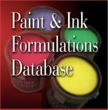 Paint and Ink Formulations Database, Ernest W. Flick, 0815515081