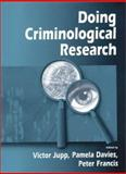 Doing Criminological Research, , 0761965084