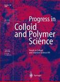 Trends in Colloid and Interface Science XIII, , 3642085083