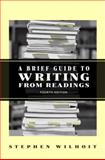 A Brief Guide to Writing from Readings, Wilhoit, Stephen, 0321435087