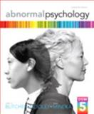 Abnormal Psychology Plus NEW MyPsychLab with EText -- Access Card Package, Butcher, James N. and Hooley, Jill M., 0205965091