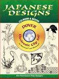 Japanese Designs, Dover Publications Inc. Staff, 0486995097