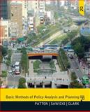 Basic Methods of Policy Analysis and Planning, Patton, Carl and Sawicki, David S., 0137495099