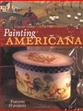 Painting Americana, Judy Morgan, 1581805098