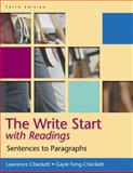 The Write Start : Sentences to Paragraphs, with Readings, Checkett, Lawrence and Feng-Checkett, Gayle, 0321365097