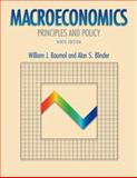 Macroeconomics : Principles and Policy, Baumol, William J. and Blinder, Alan S., 0030355095