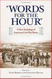 Words for the Hour, Faith Barrett and Cristanne Miller, 1558495096