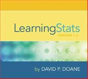 LearningStats CD-ROM, Doane, David P., 0072885106