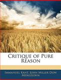Critique of Pure Reason, Immanuel Kant and John Miller Dow Meiklejohn, 1145805108