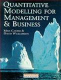Quantitative Modelling for Management and Business 9780273605102