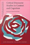 Critical Discourse Studies in Context and Cognition,, 9027285101