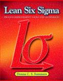 Lean Six Sigma, Summers, Donna C., 0135125103