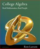 College Algebra : Real Mathematics, Real People, Larson, Ron, 111157510X