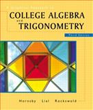 A Graphical Approach to College Algebra and Trigonometry, Hornsby, John and Lial, Margaret L., 0201735105