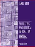 Evaluating Psychological Information 4th Edition
