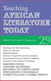 ALT 29 Teaching African Literature Today, , 1847015115