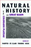 A Natural History of the Colorado Plateau and Great Basin, , 0870815113
