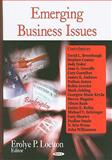 Emerging Business Issues, , 160456511X