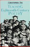 Teaching Eighteenth-Century Poetry, , 0404635121