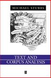 Text and Corpus Analysis 9780631195122