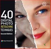 40 Digital Photo Retouching Techniques, Youngjin.com Staff, 8931435126