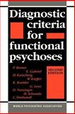 Diagnostic Criteria for Functional Psychoses, Berner, P. and Gabriel, E., 0521035120
