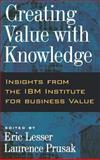 Creating Value with Knowledge, , 0195165128