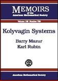 Kolyvagin Systems, Mazur, Barry and Rubin, Karl, 0821835122