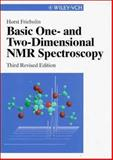 Basic One- and Two-Dimensional NMR Spectroscopy, Friebolin, Horst, 3527295135