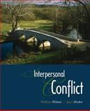 Interpersonal Conflict, Wilmot, William W. and Hocker, Joyce L., 0073385131