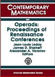 Operads : Proceedings of Renaissance Conferences, , 0821805134