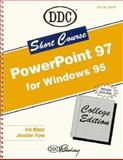 Short Course for Powerpoint 97 Introductory, Blanc, Iris and Frew, Jennifer, 1562435140
