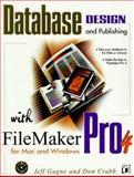 Web Database Publishing with Filemaker Pro 4, Don Crabb and Jeff Gagne, 1558515143