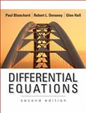 Differential Equations, Blanchard, Paul and Devaney, Robert L., 0534385141